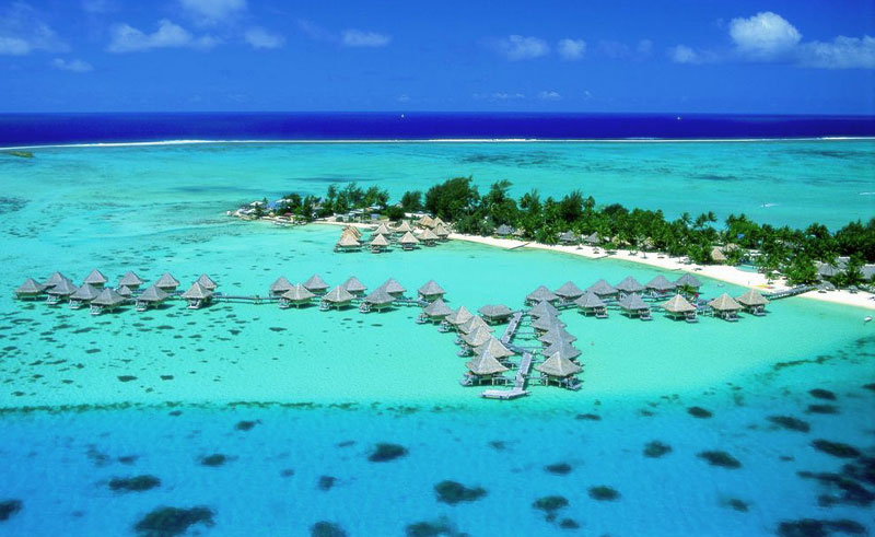 intercontinental bora bora le moana resort overwater bungalows