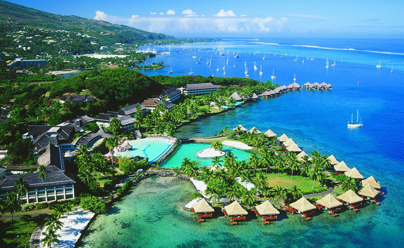 intercontinental resort tahiti exterior