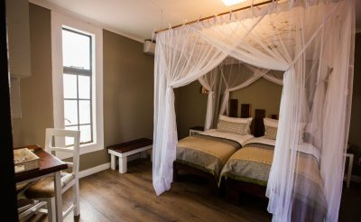 kalahari anib lodge bedroom interior
