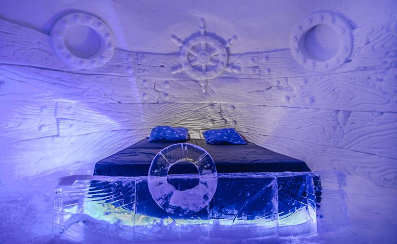 kirkenes snowhotel snowroom