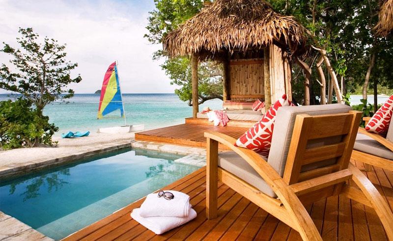 likuliku lagoon resort deck