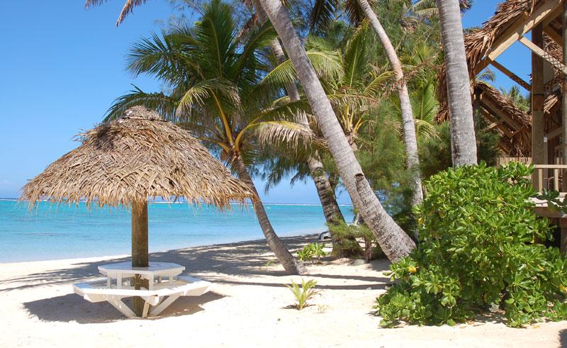 little polynesian beach hut