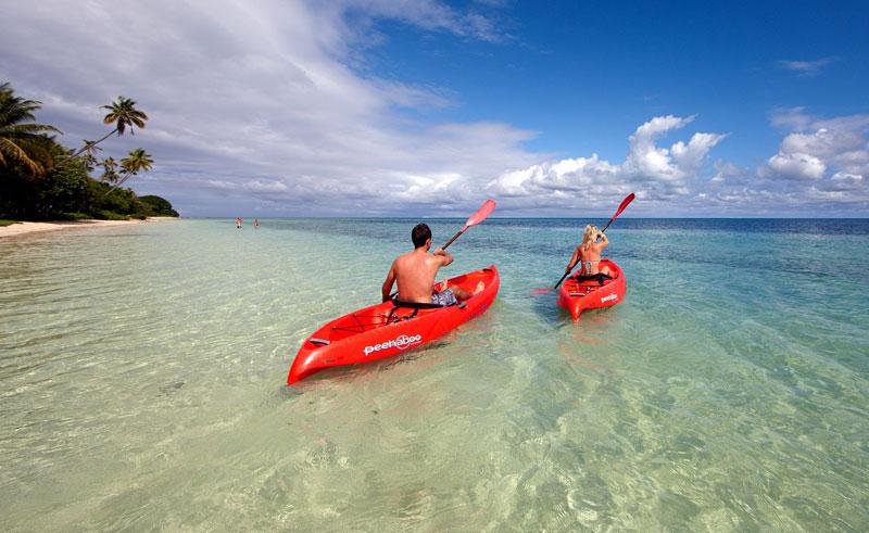 lomani island resort kayaking