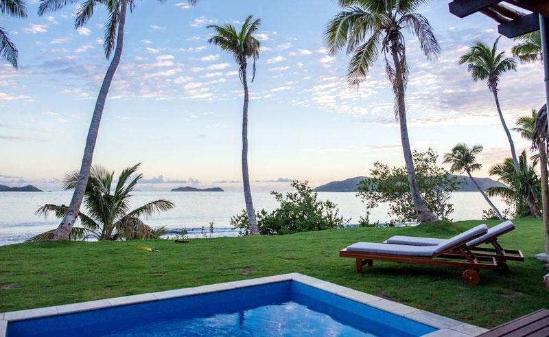 matamanoa island resort pool