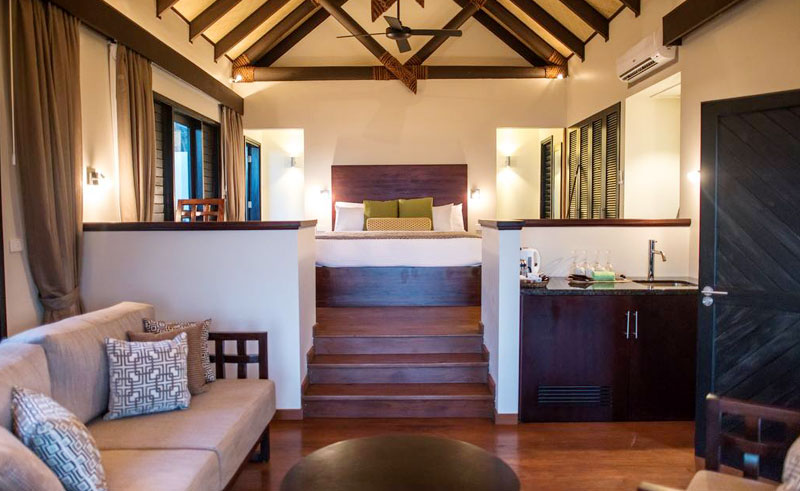 matamanoa island resort villa interior