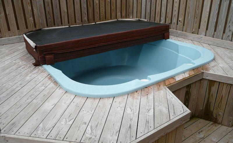 minniborgir cottages hot tub
