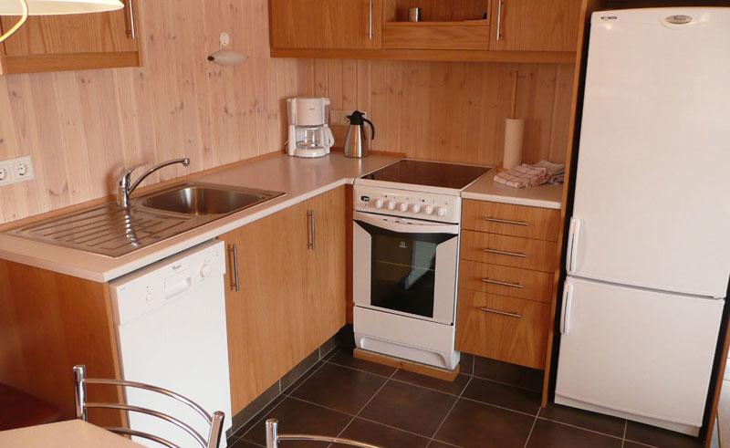 minniborgir cottages kitchen