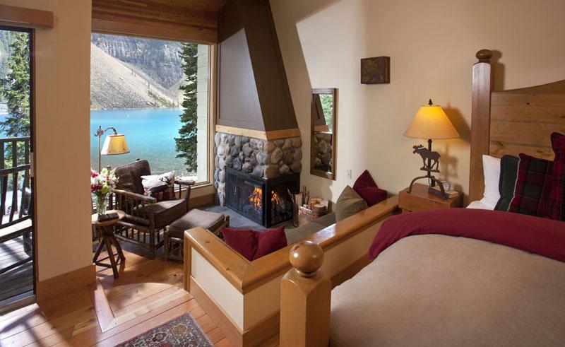moraine lake lodge king room
