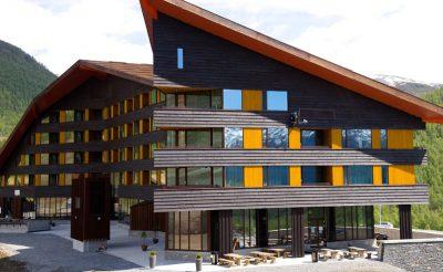 myrkdalen hotel exterior
