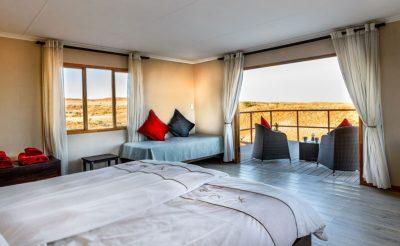 namib dune star camp bedroom interior