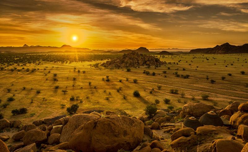 namibia damaraland sunset rth