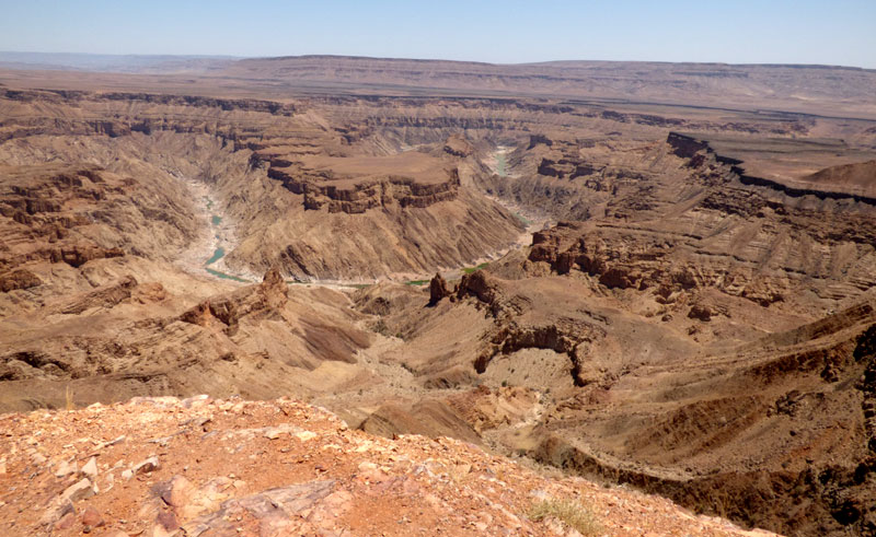 namibia fish river canyon view gt