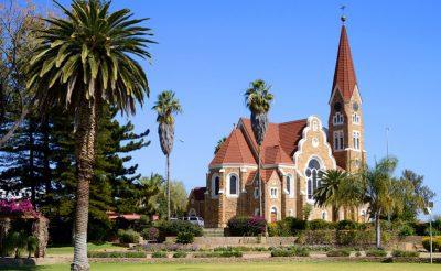 namibia windhoek christuskirche astock