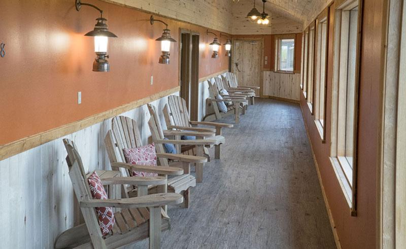 nanuk lodge hallway