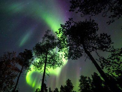 nellim wilderness hotel aurora borealis