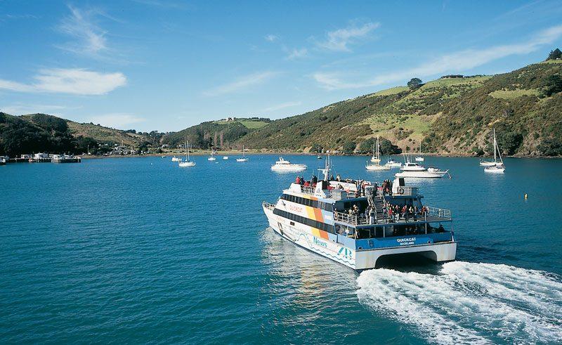 new zealand auckland waiheke island ferry ta