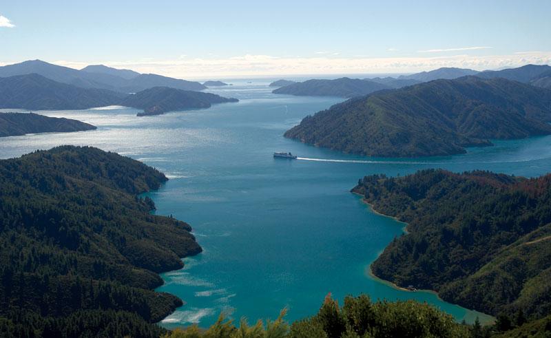 new zealand marlborough sounds interislander ferry