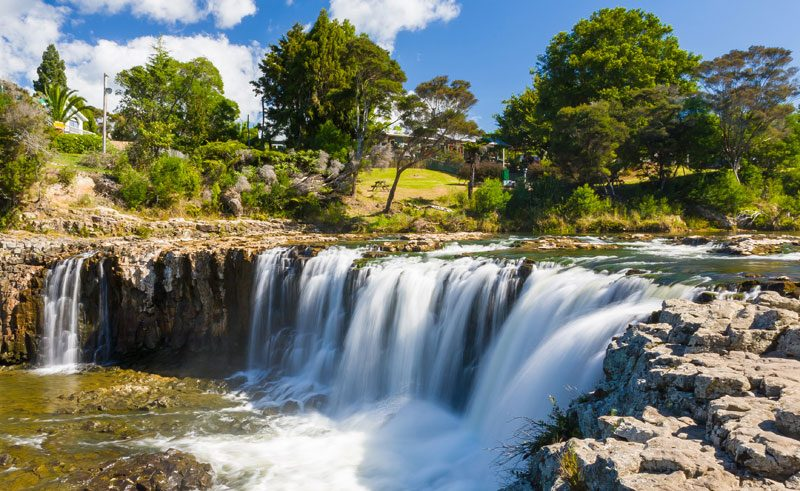 new zealand northland haruru falls paihia is