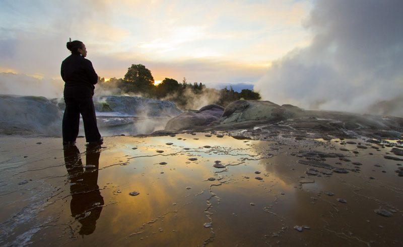 new zealand rotorua te puia geothermal activity tnz