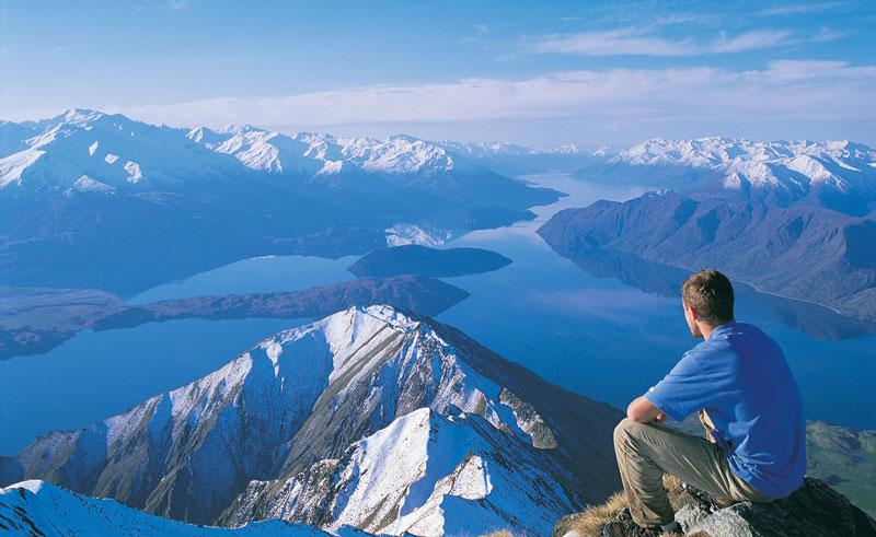 new zealand southern lakes wanaka hiker lwt