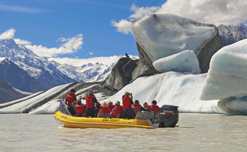 new zealand tasman glacier boat trip2 ga