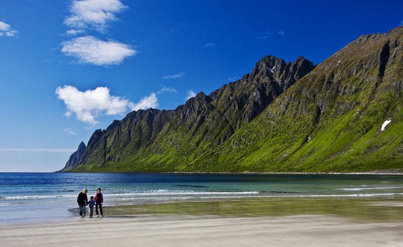 northern norway senja ersfjord beach vn