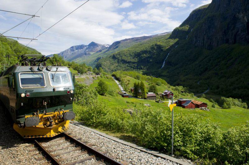 norway fjords flamsbana railway istock