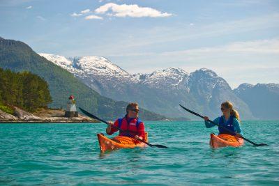 norway fjords hardanger kayaking vnor
