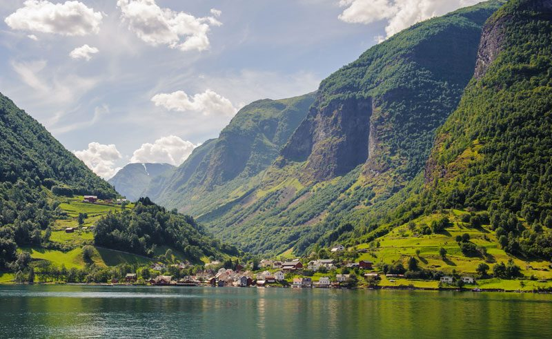 norway fjords sognefjord is