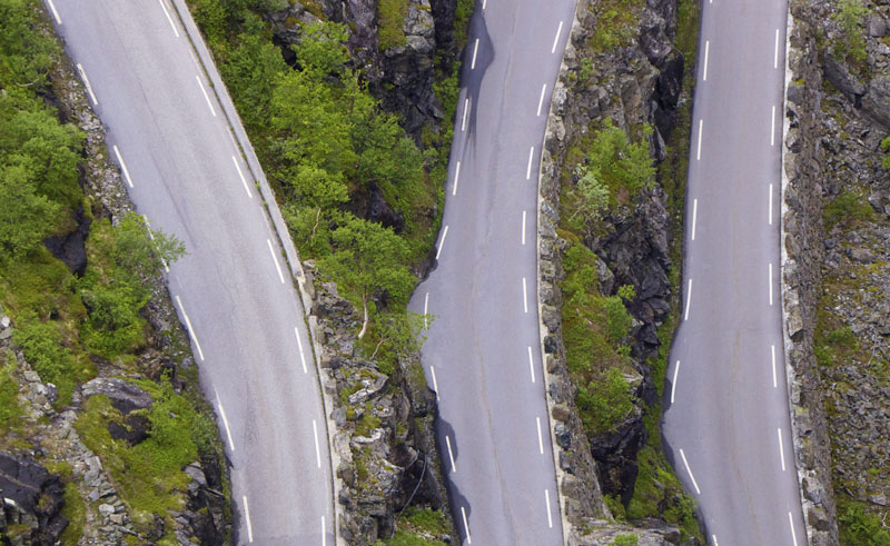 norway fjords trollstigen road istock