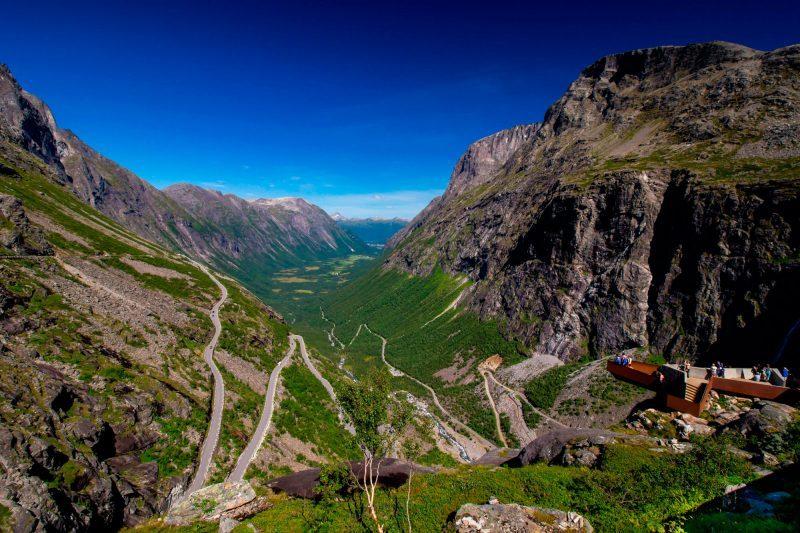 norway fjords trollstigen viewpoint adstk m