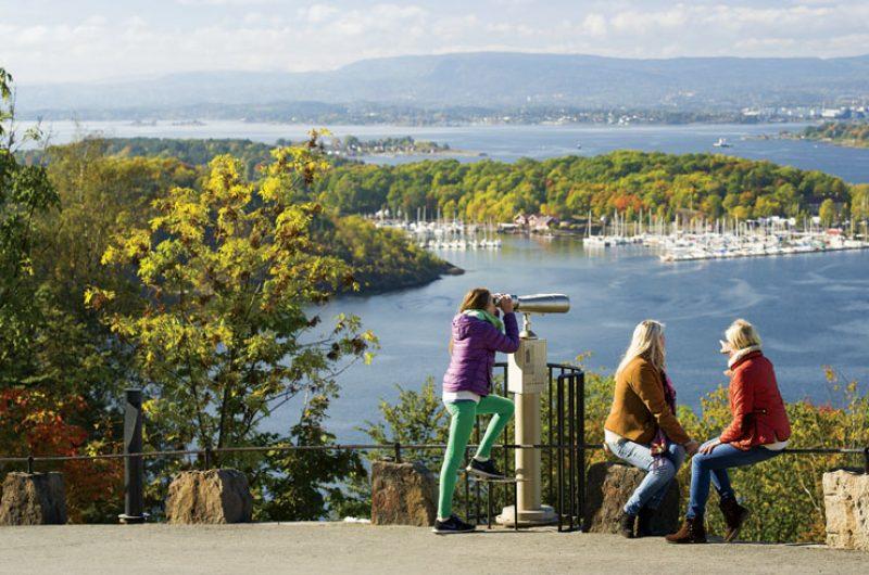 norway oslo ekebergparken viewpoint vn