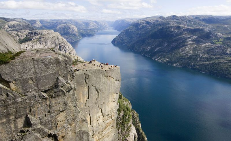 norway south stavanger lysefjord pulpit rock rs