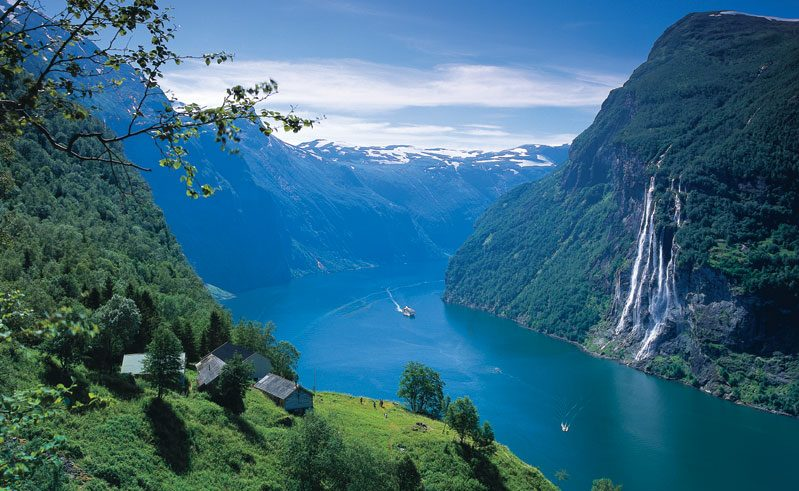norway view over geiranger vb