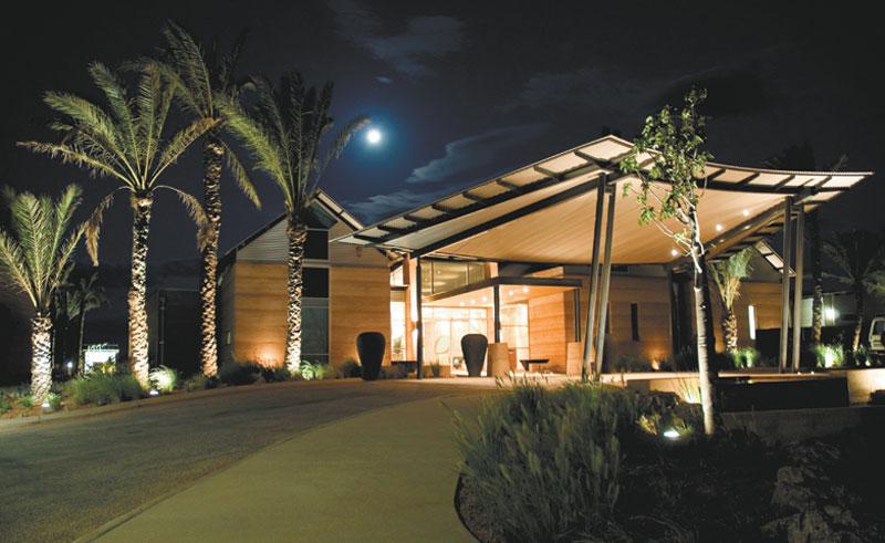 novotel ningaloo resort entrance