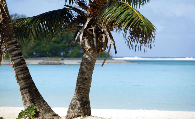 pacific resort rarotonga beach