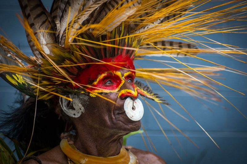 papua new guinea tribal headress png tb