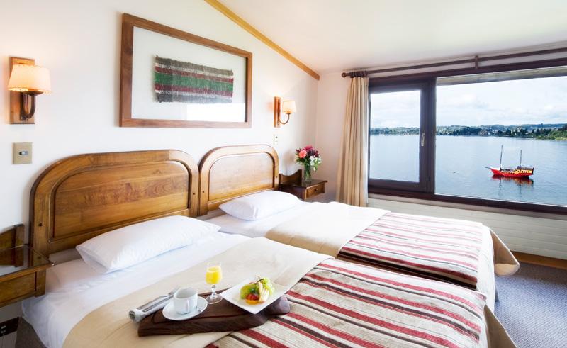 puerto varas cabanas del lago twin with view