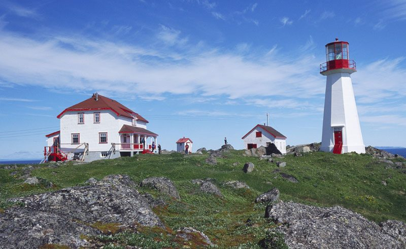 quirpon lighthouse inn exterior
