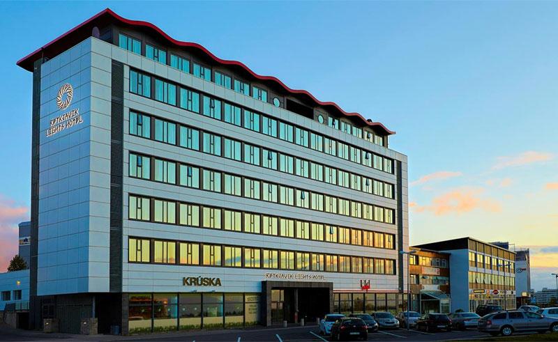 reykjavik lights exterior