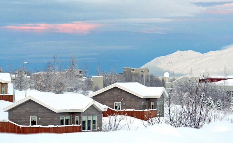 saeluhus exterior winter