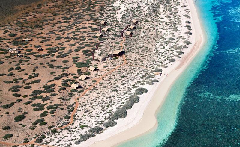 sal salis ningaloo reef aerial