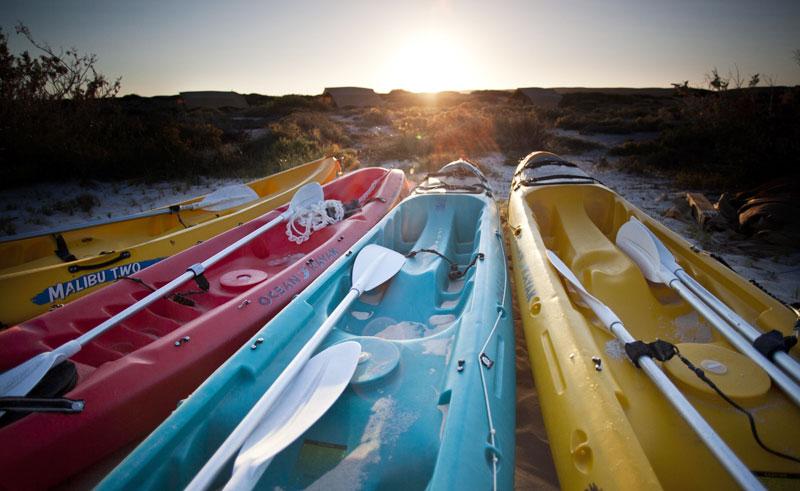 sal salis wilderness camp kayaks