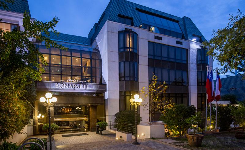 santiago hotel bonaparte exterior front