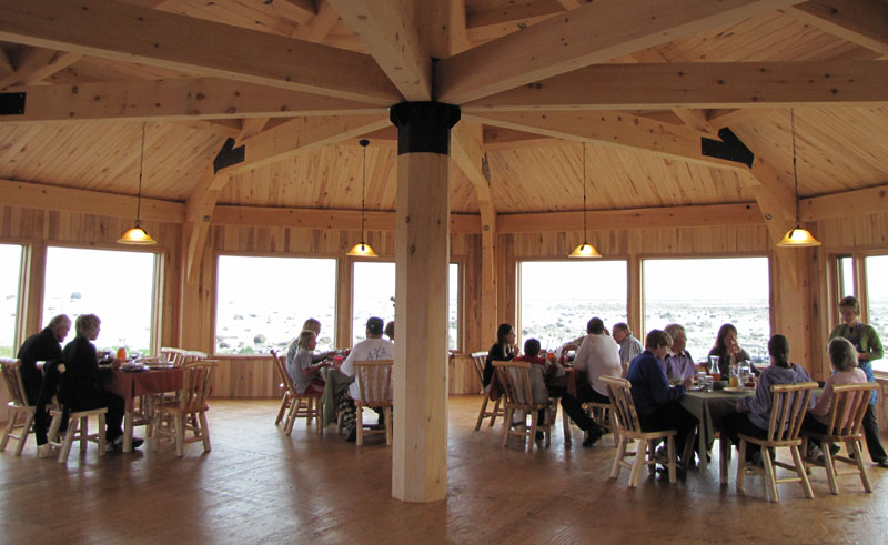seal river lodge dining