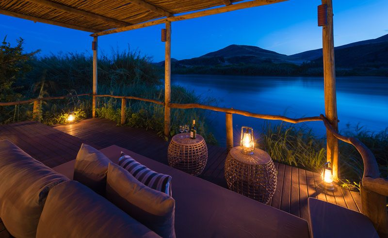 serra cafema bedroom balcony