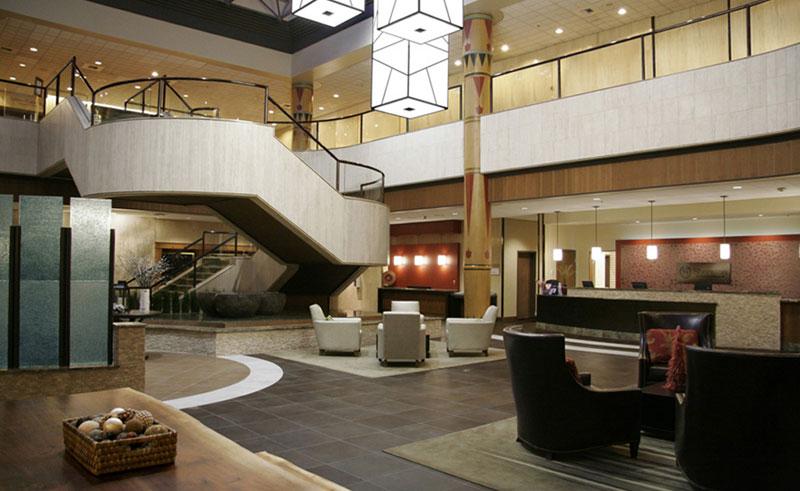 sheraton anchorage hotel lobby