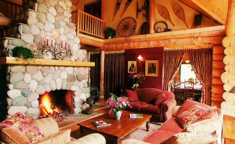 siwash lake ranch great room