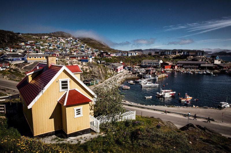 south greenland qaqortoq town vg
