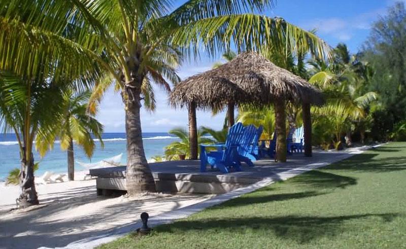 sunset resort rarotonga loungers
